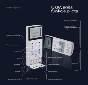 Pilot Bidet Elektroniczny USPA 6035