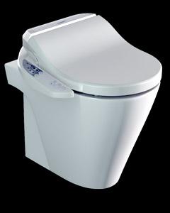 Miska WC Stojąca ZERO Catalano z deską myjącą